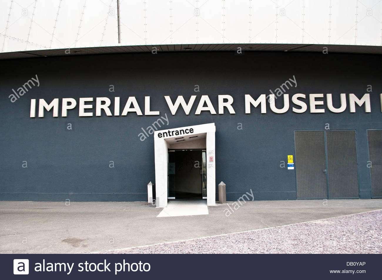 Imperial War Museum North, Salford Quays, Greater Manchester, UK - Stock Image