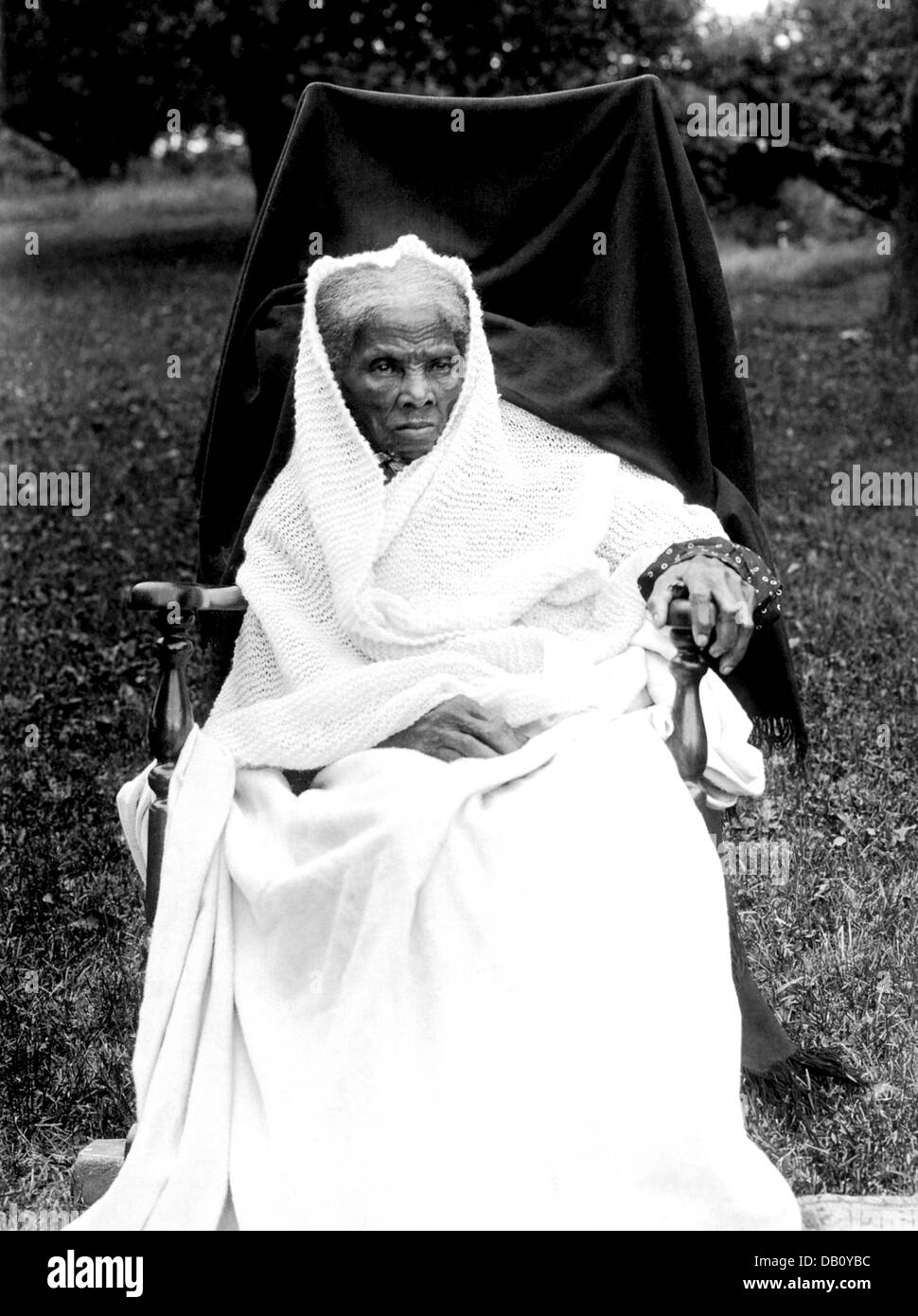 HARRIET TUBMAN (1820-1913) Abolitionist and Union spy during the American Civil War, photographed in 1911 - Stock Image