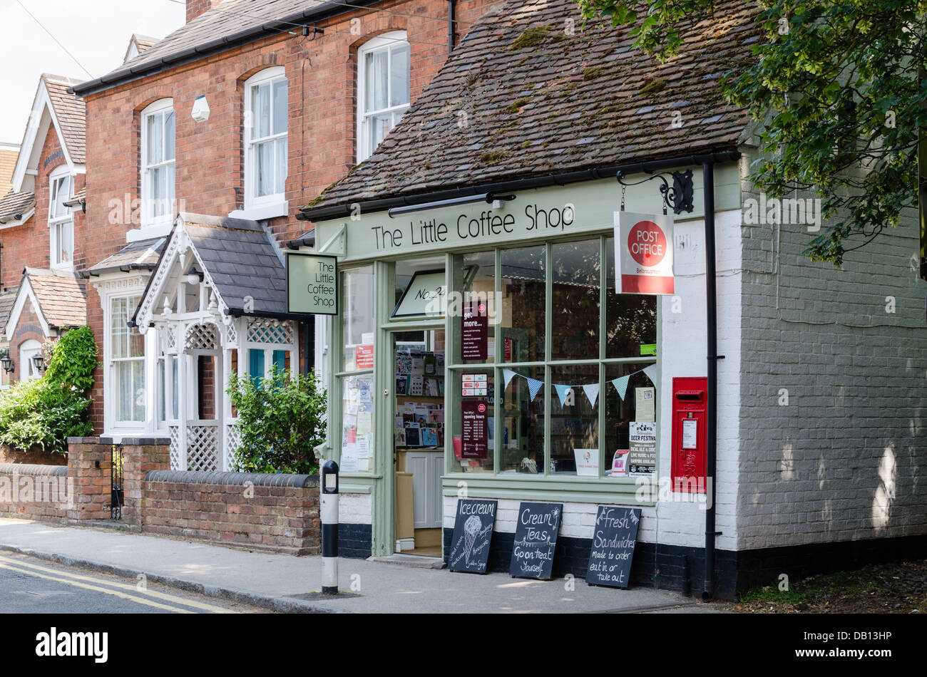 office coffee shop. The Little Coffee Shop Cafe And Post Office In Worcestershire Village Of Belbroughton