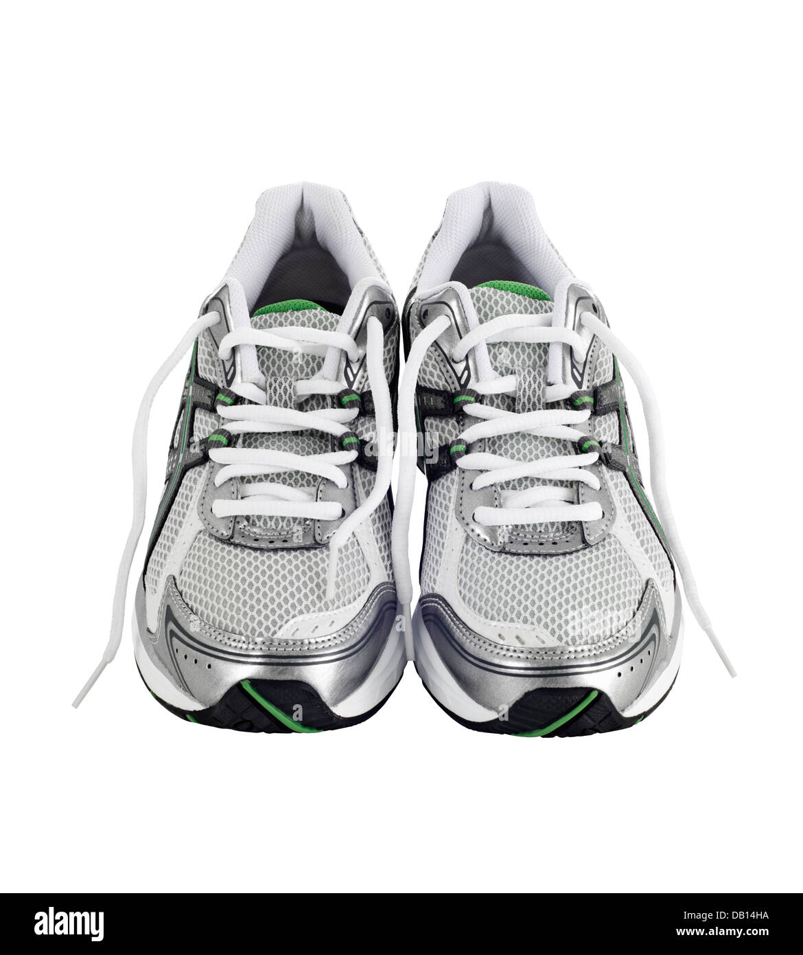 Pair of running shoes Stock Photo