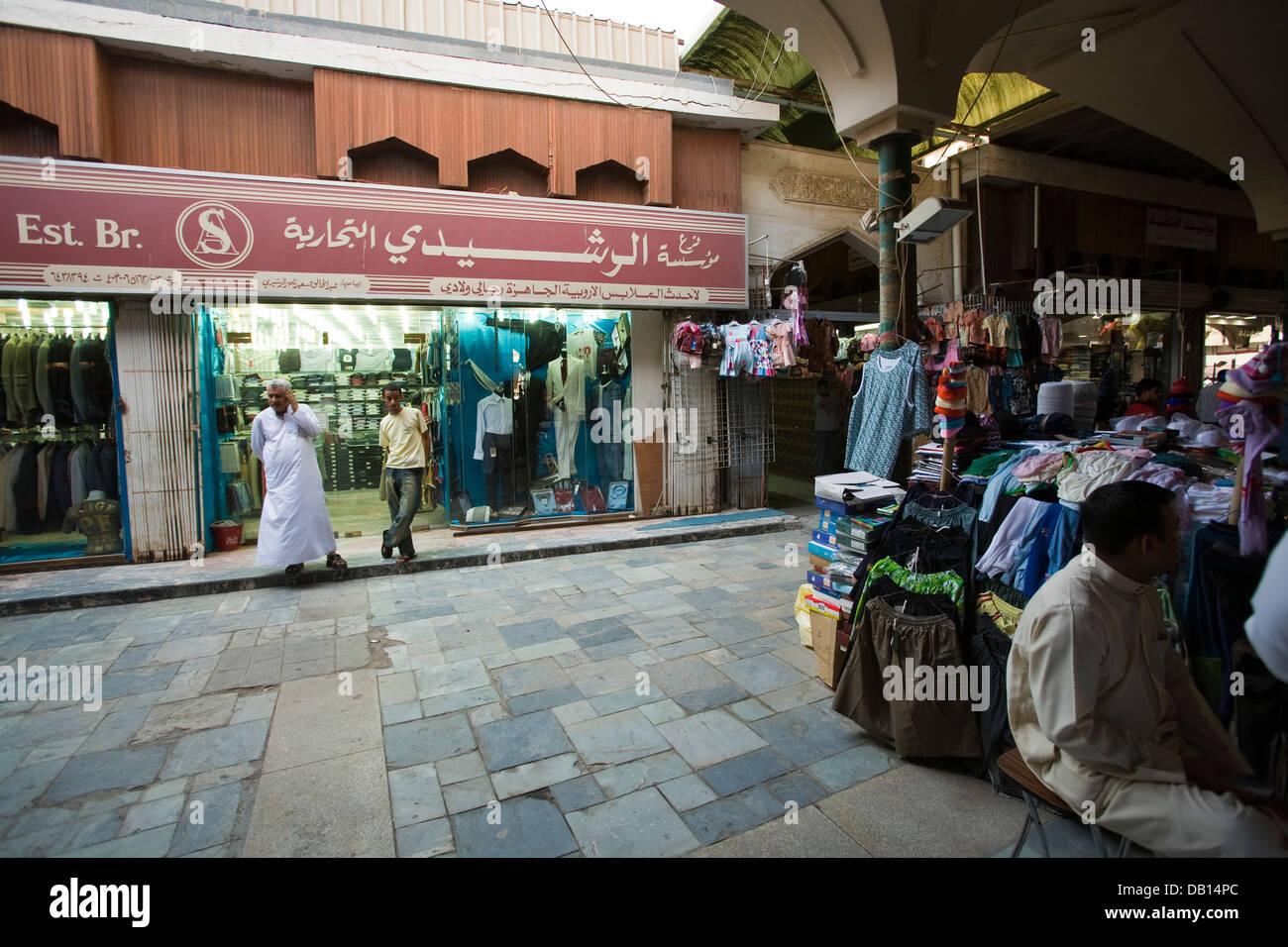 Souq al-Alawi market in Old Jeddah (Al-Balad), Jeddah, Saudi