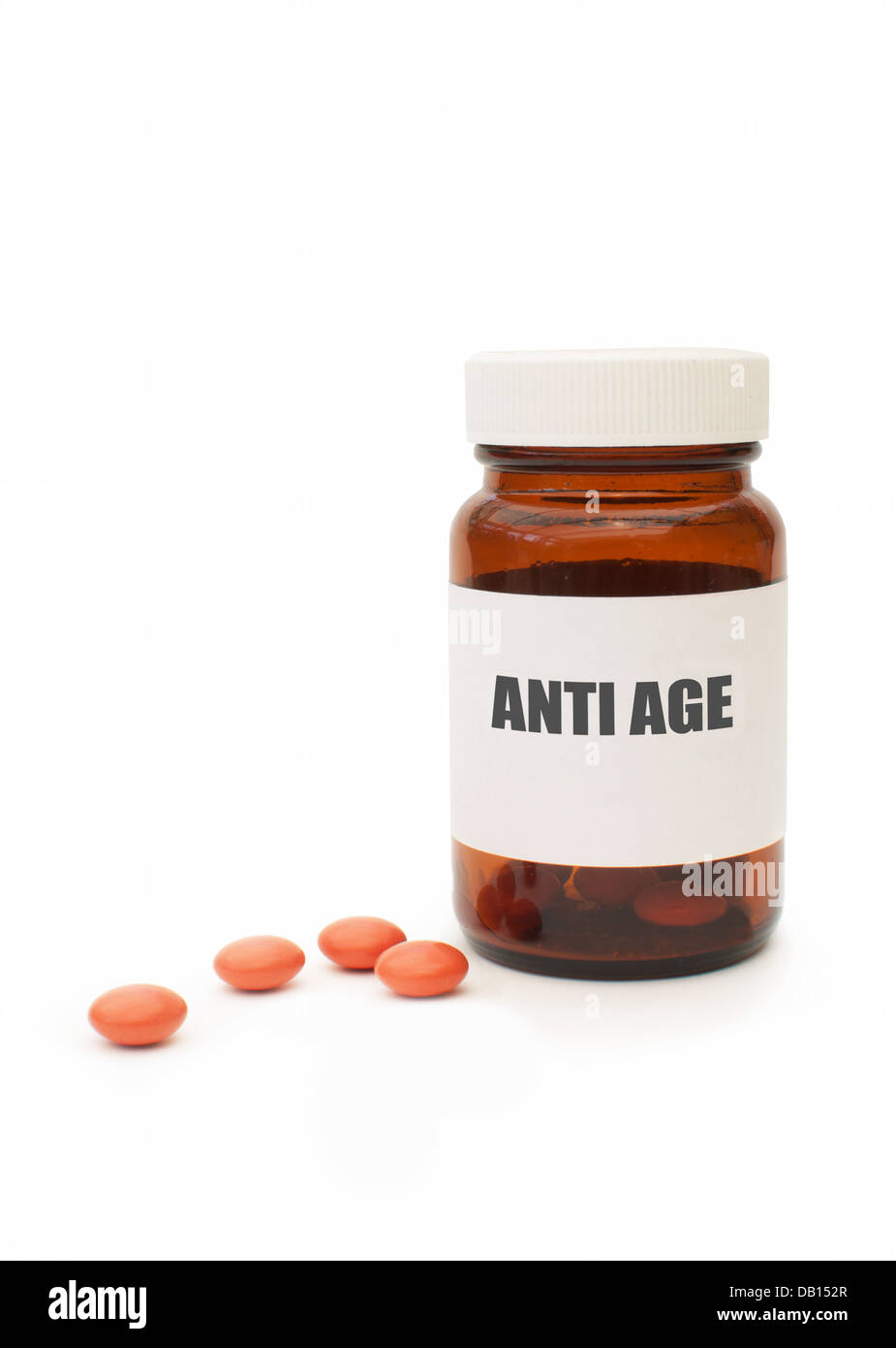 Anti aging pills - Stock Image