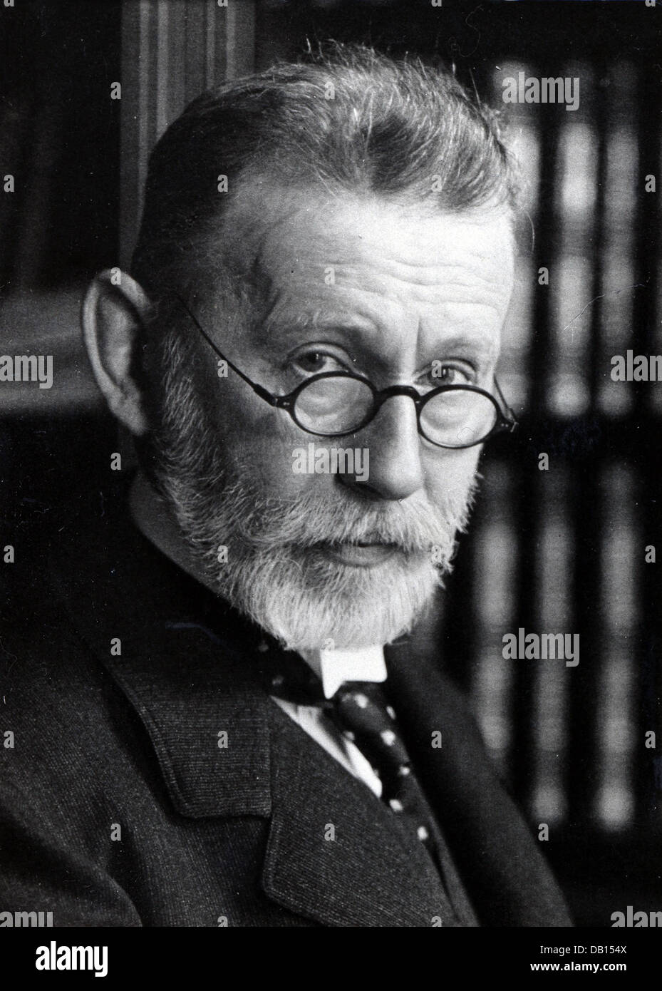 Paul Ehrlich German bacteriologist - Stock Image