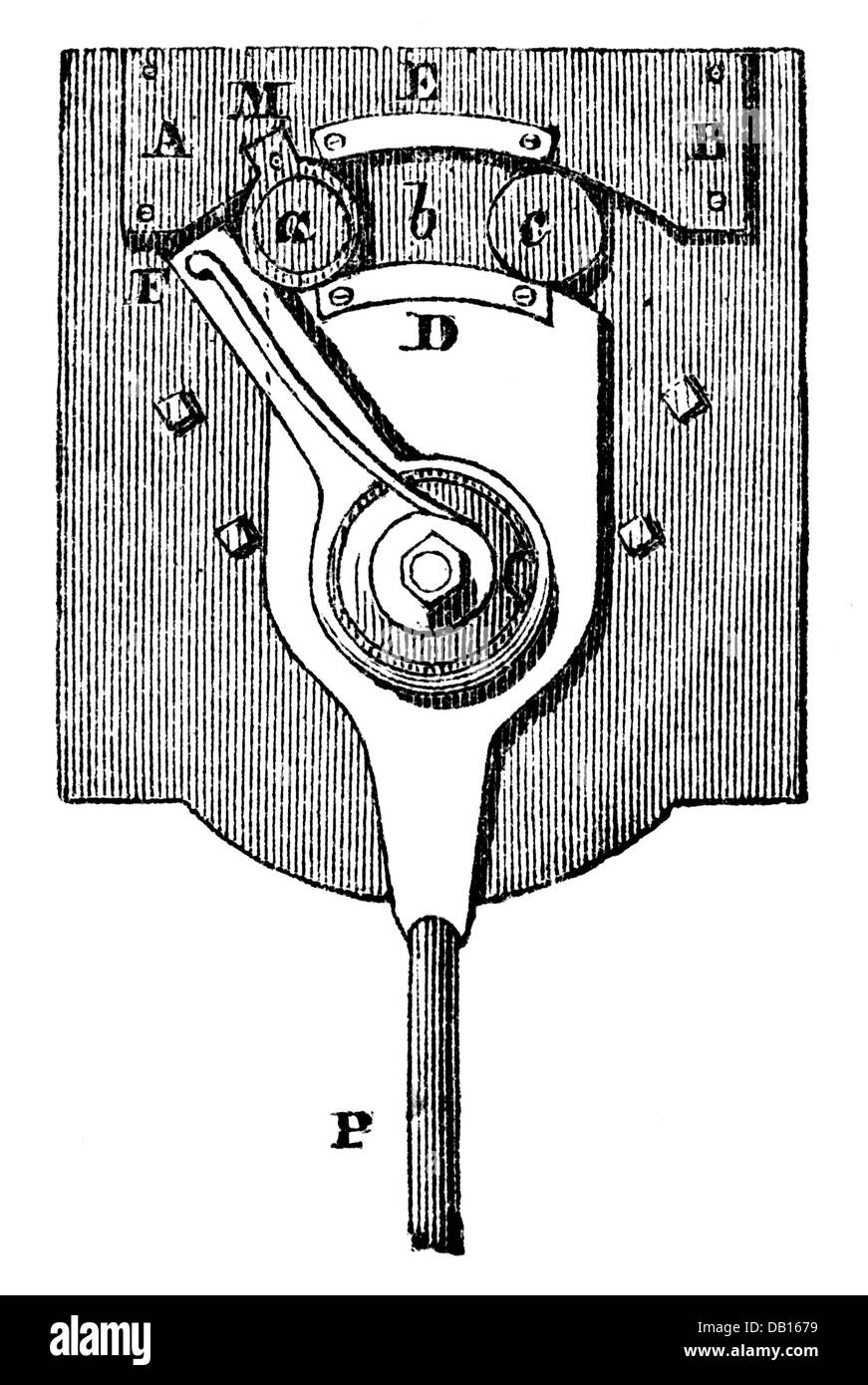 money / finances, mintage, knurling works with knurling iron in shape of bow, from: book of inventions, trades and - Stock Image