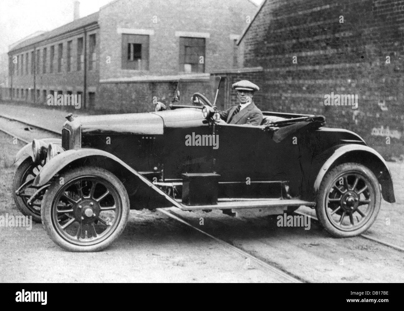 1921 Beardmore Eleven - Stock Image