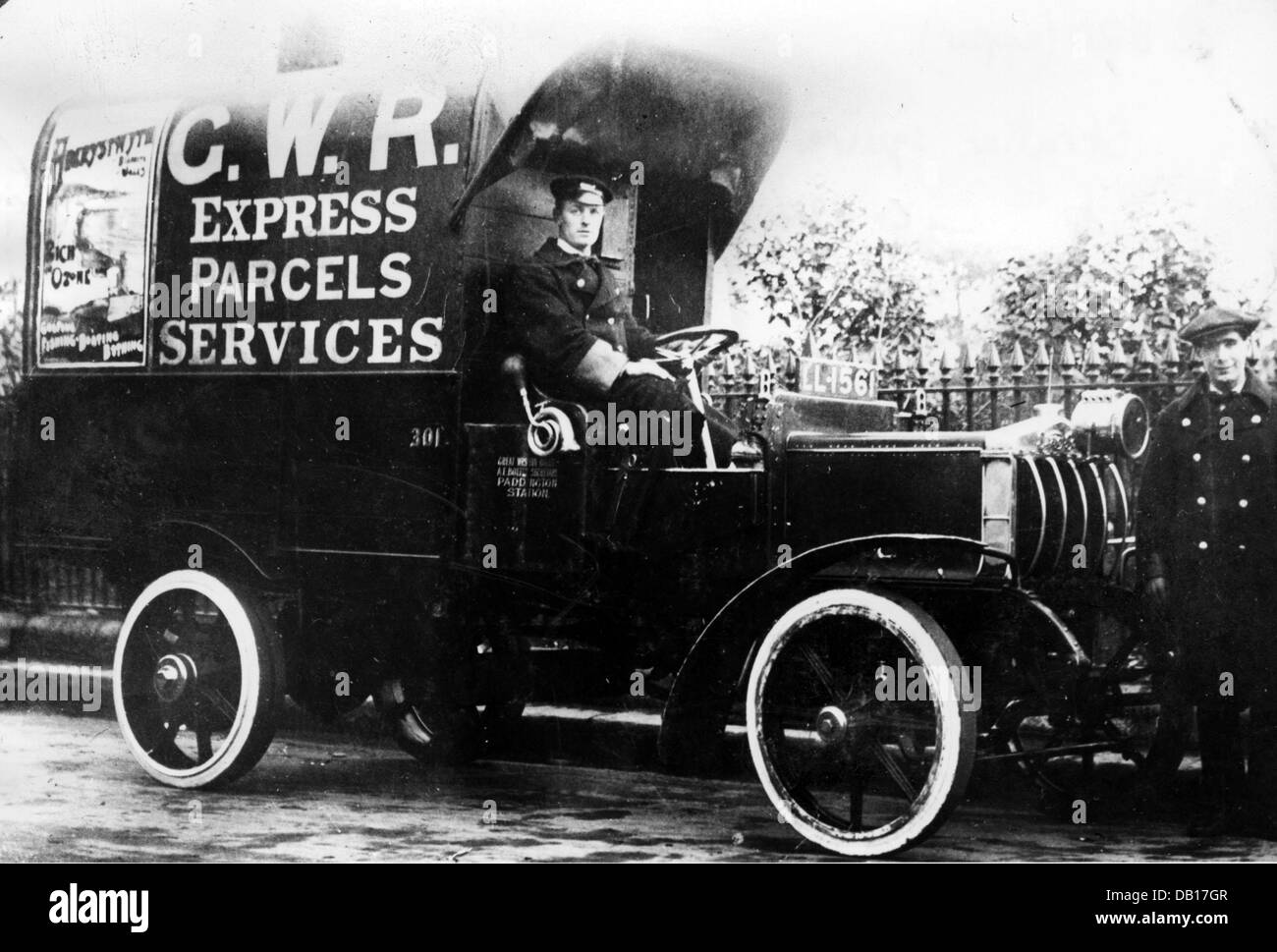 Straker Squire 4 cyl C.N type 1914 - Stock Image