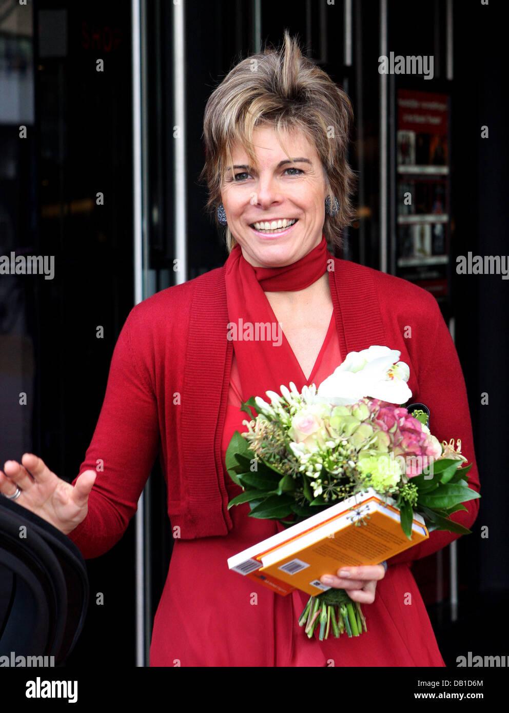 Princess Laurentien of the Netherlands attends the 75th annivarsary of the association 'Taal Genootschap' in Utrecht, Stock Photo