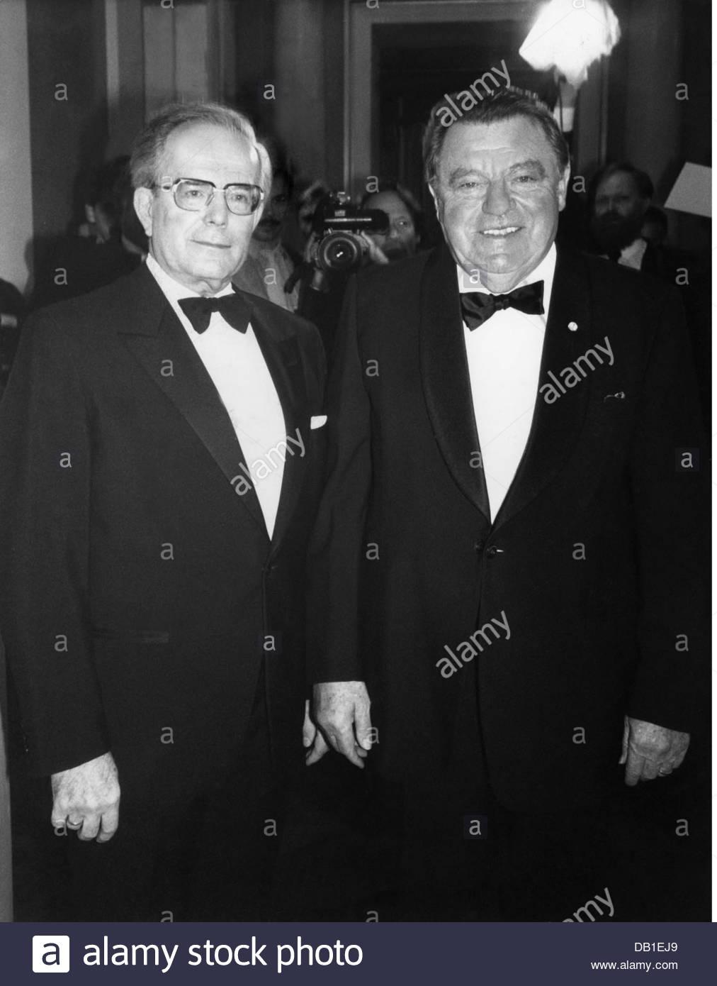 Strauss, Franz Josef, 6.9.1915 - 3.10.1988, German politician (CSU), Prime Minister of Bavaria 6.11.1978 - 3.10.1988, - Stock Image