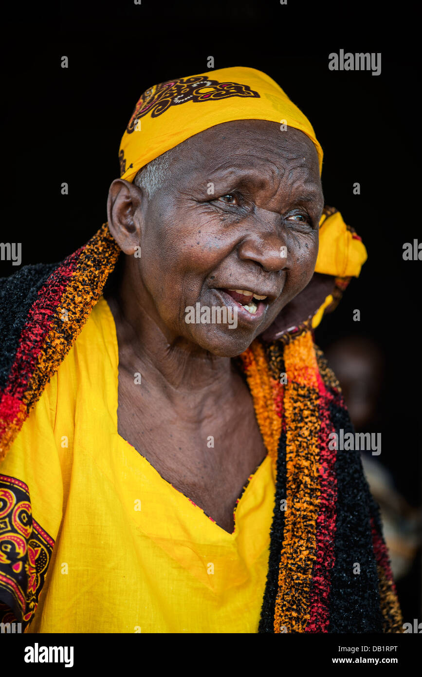 African woman - Stock Image