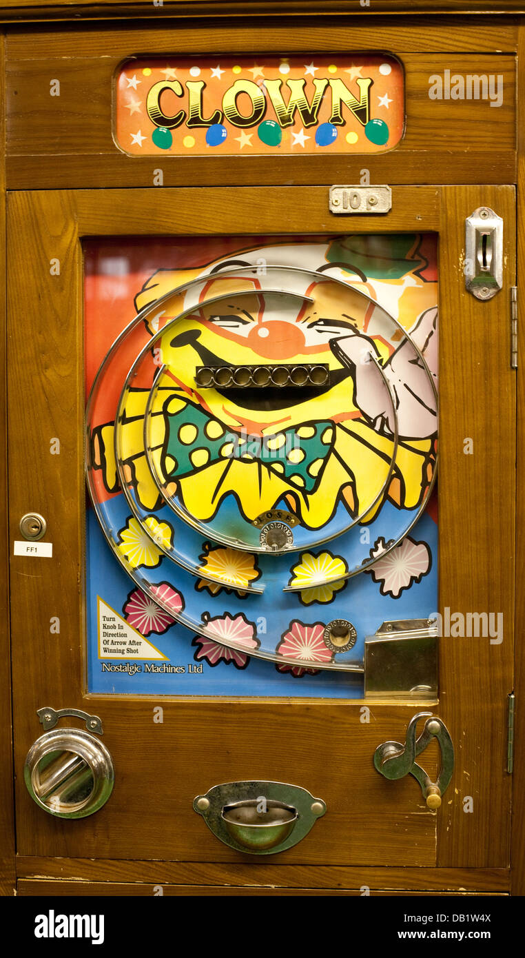 Traditional arcade game - Stock Image