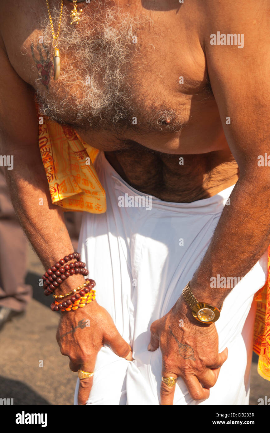 London, UK. 21st July, 2013. Ghanshyam Mahotsav Silver Jubilee Festival, Shree Swaminarayan Temple, Willesden Lane, - Stock Image