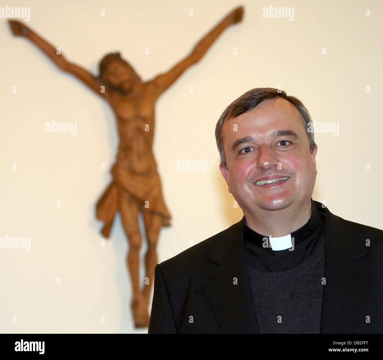 Suffragan Karl-Heinz Wiesemann is pictured in Paderborn, Germany, 19 December 2007. 47-year-old Wiesemann will become - Stock Image
