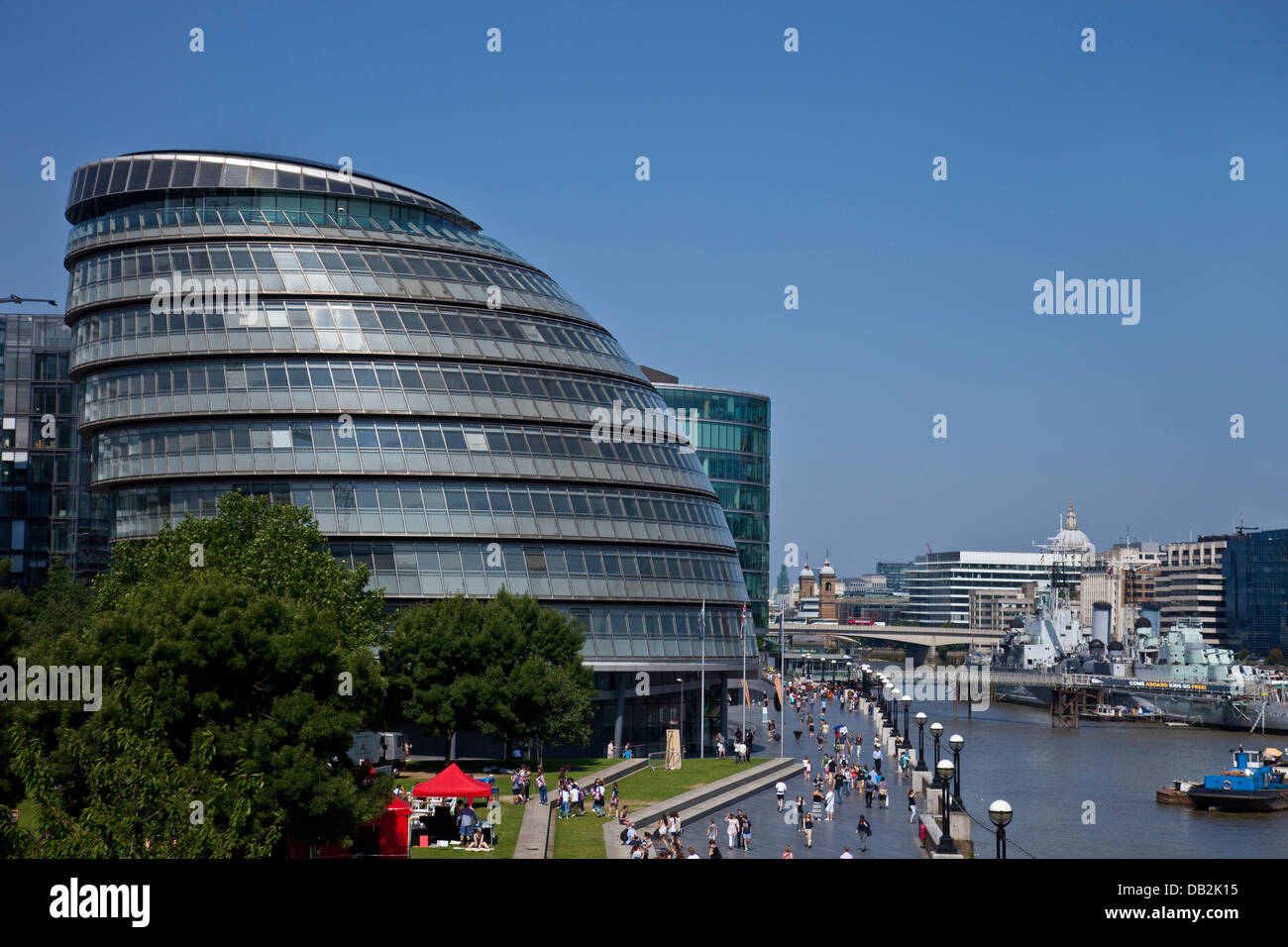 The London Assembly Building (City Hall) London, England - Stock Image