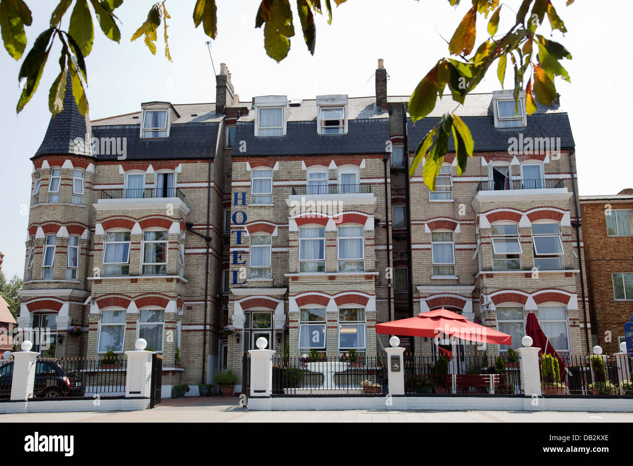 Euro Hotel On Clapham Common Southside In London Sw4 Uk Stock