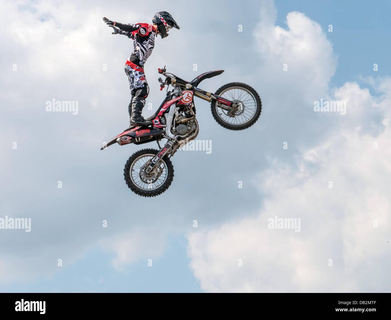 Freestyle Moto cross 2013 - Stock Image
