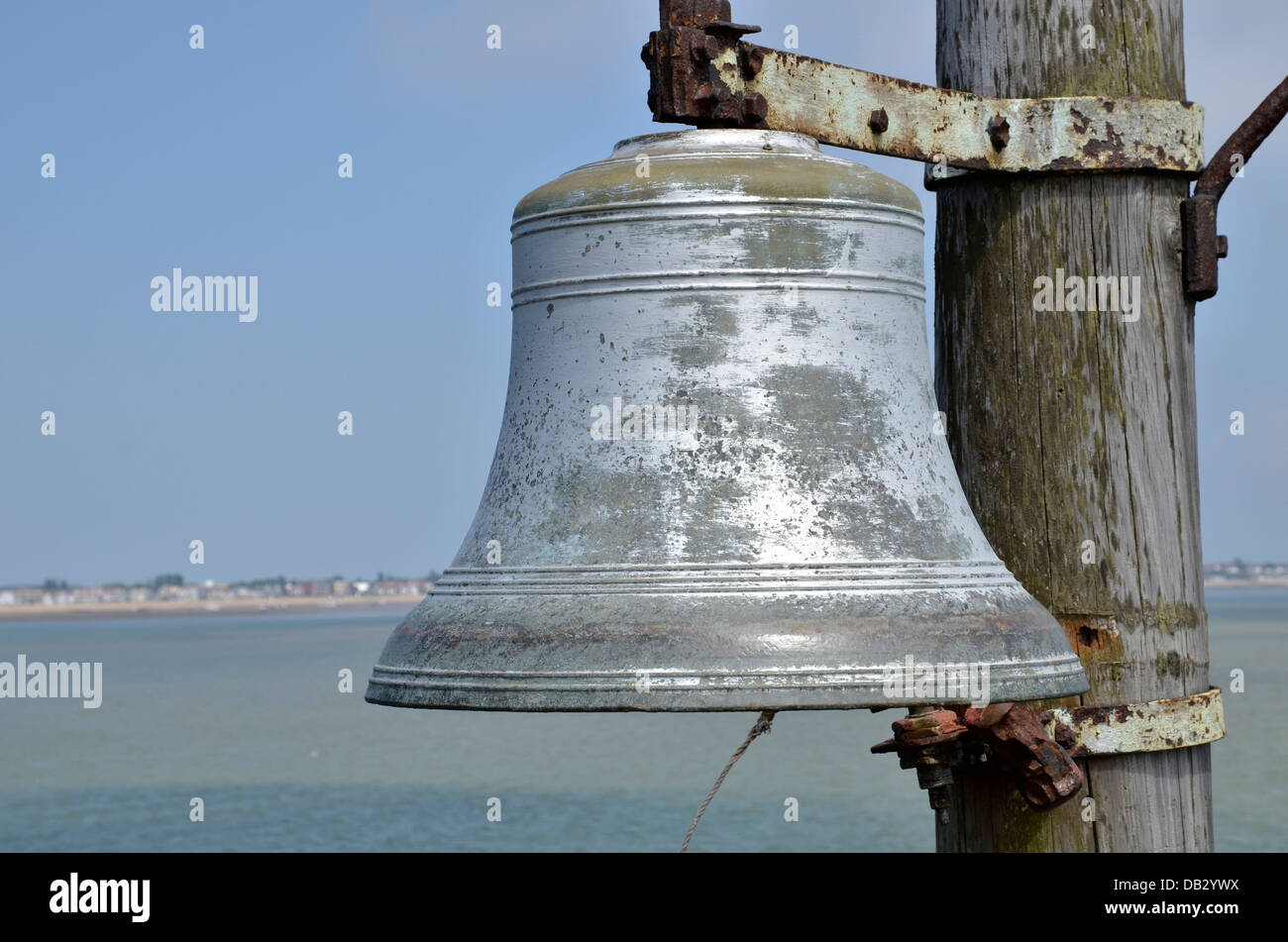 The bell at the end Southend Pier - Stock Image