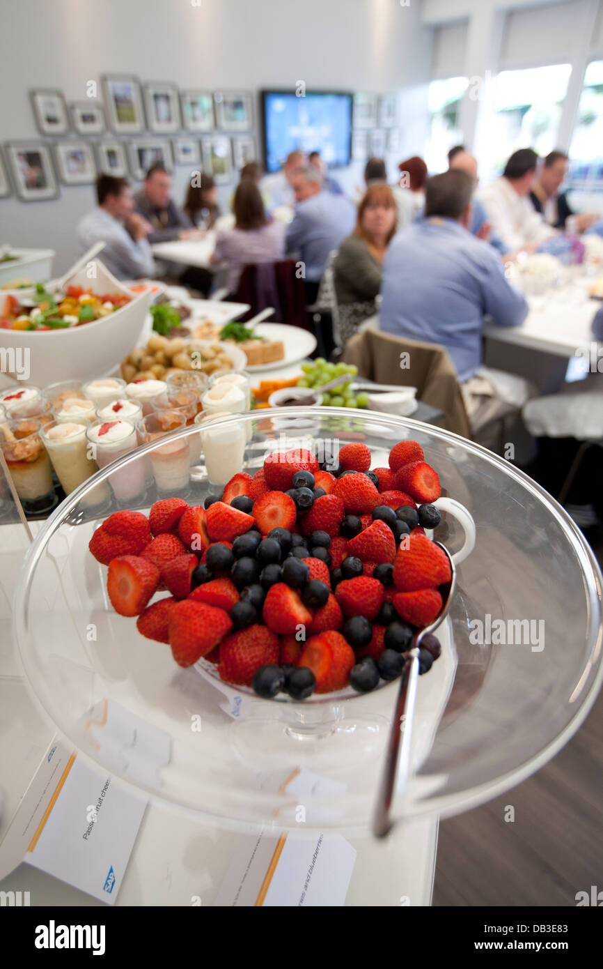 Marquee Corporate Hospitality Area Radisson Hotels The Championships Wimbledon 2012 - Stock Image