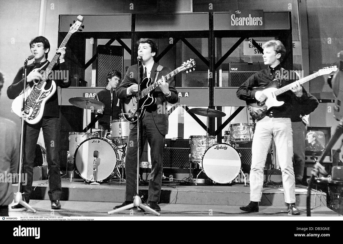 Searchers, The, founded in 1960, British Rock band, on stage, Additional-Rights-Clearances-NA - Stock Image