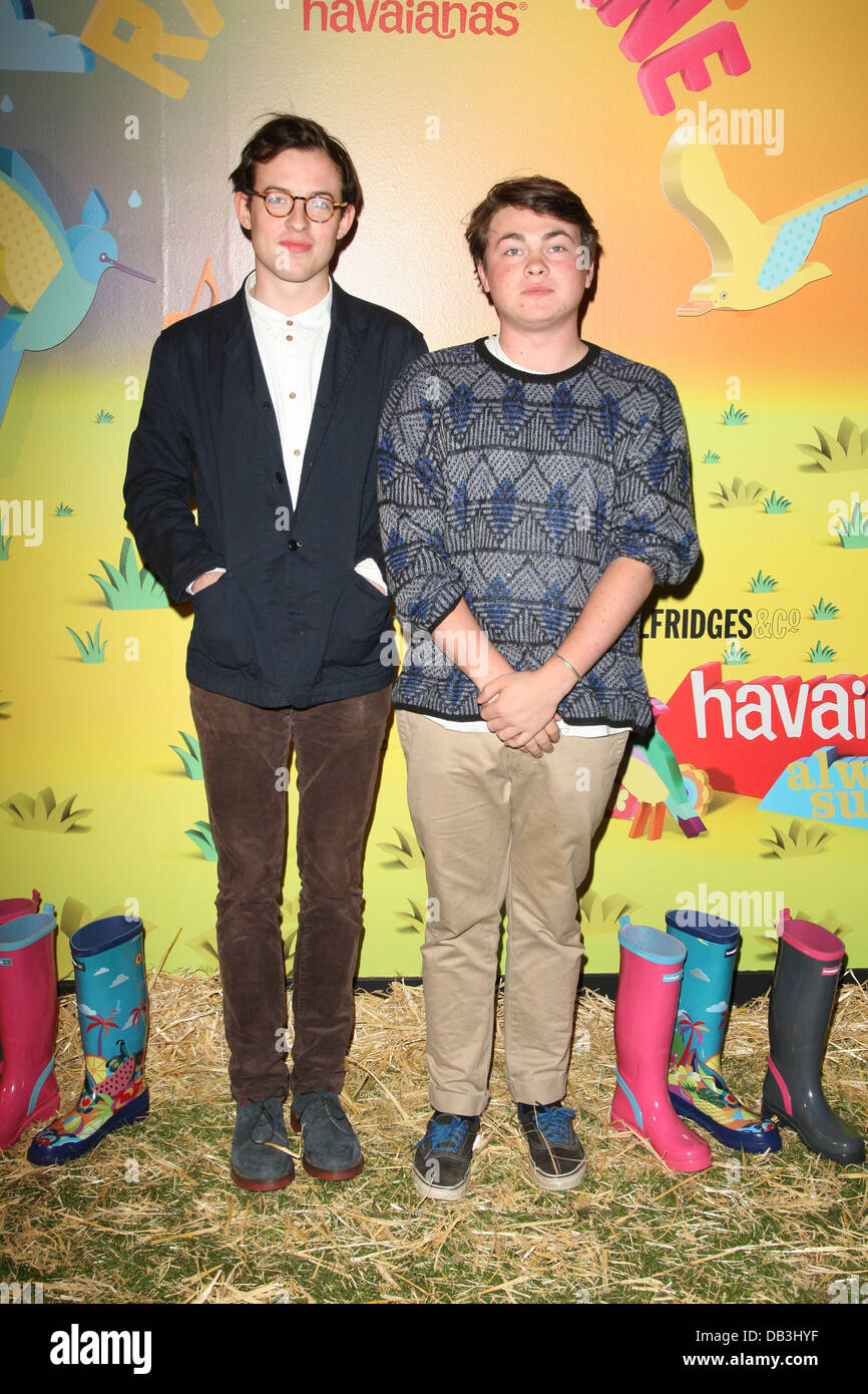 a8f902635b65b Guests The launch of Havaianas Wellies at Selfridges London