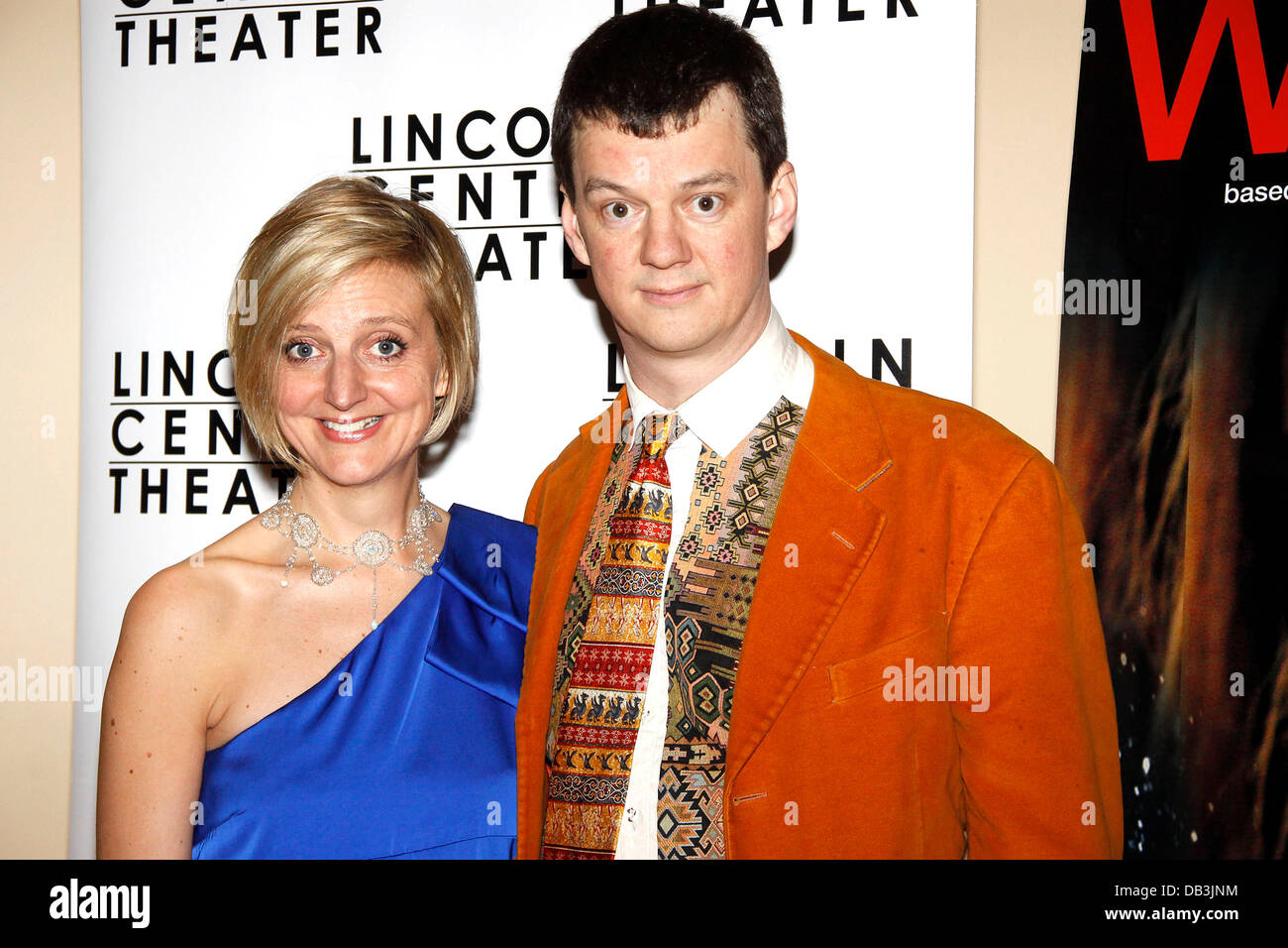 Marianne Elliott and Tom Morris Opening night after party for the Lincoln Center Broadway production of 'War - Stock Image