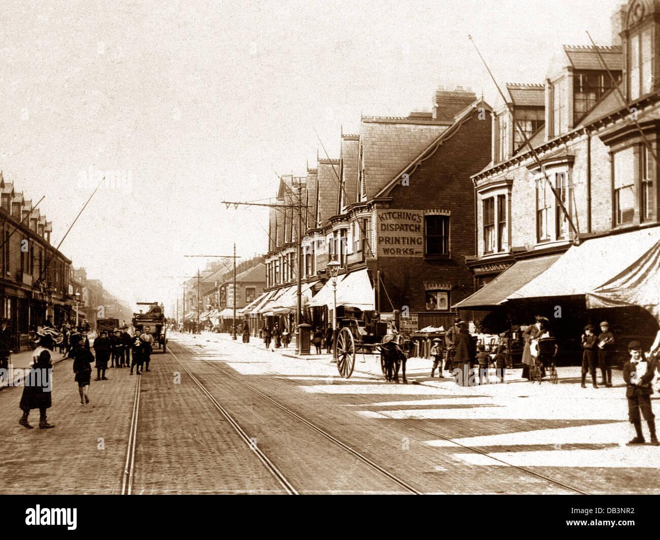 Hull Hessle Road early 1900s Stock Photo: 58475286 - Alamy