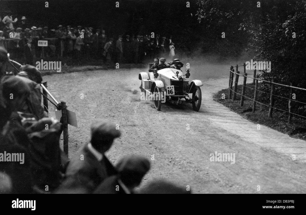 1912 Vauxhall Prince Henry at Shelsley Walsh - Stock Image