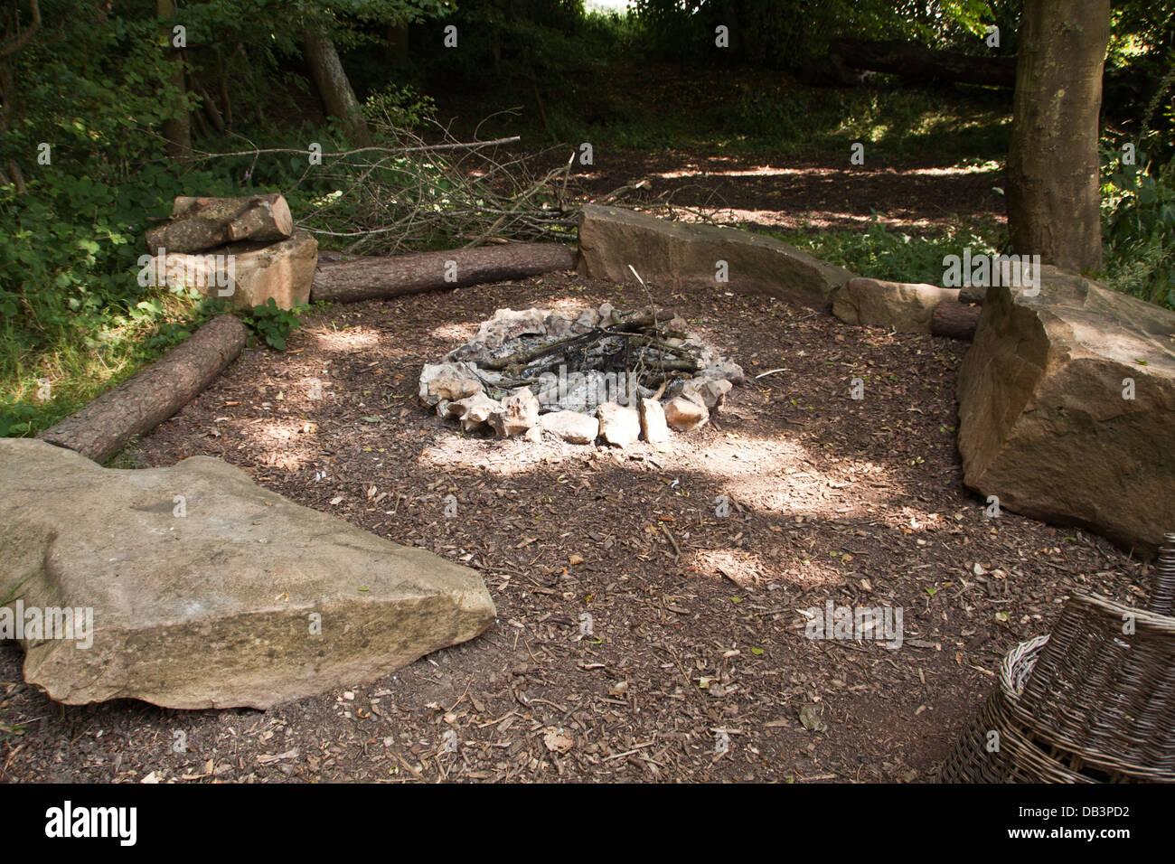Fireside. - Stock Image