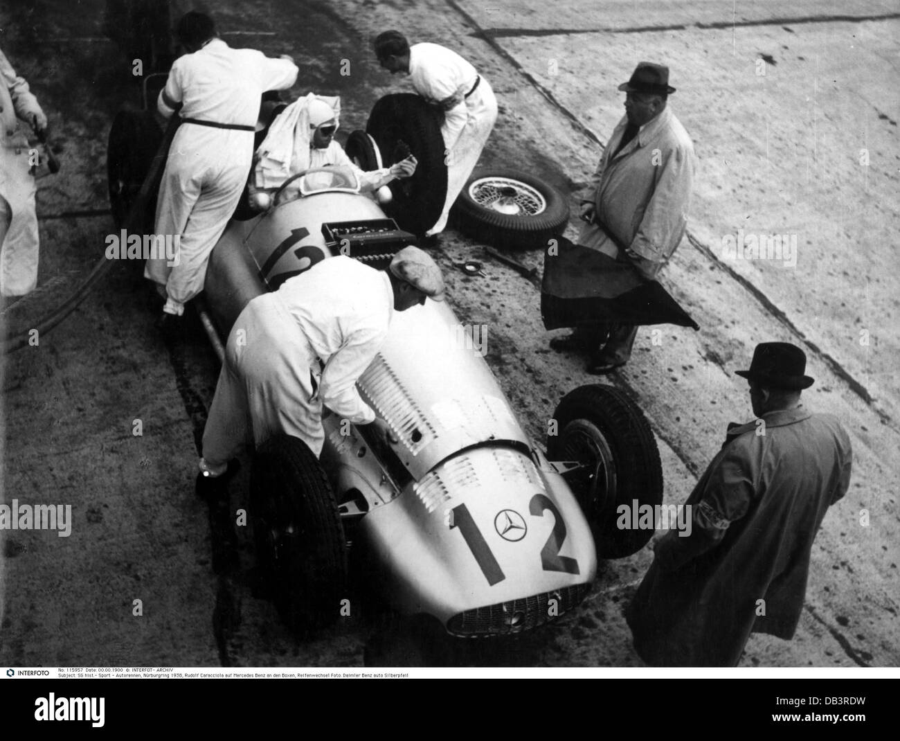 sports, car racing, Nürburgring 1938, Additional-Rights-Clearences-NA - Stock Image