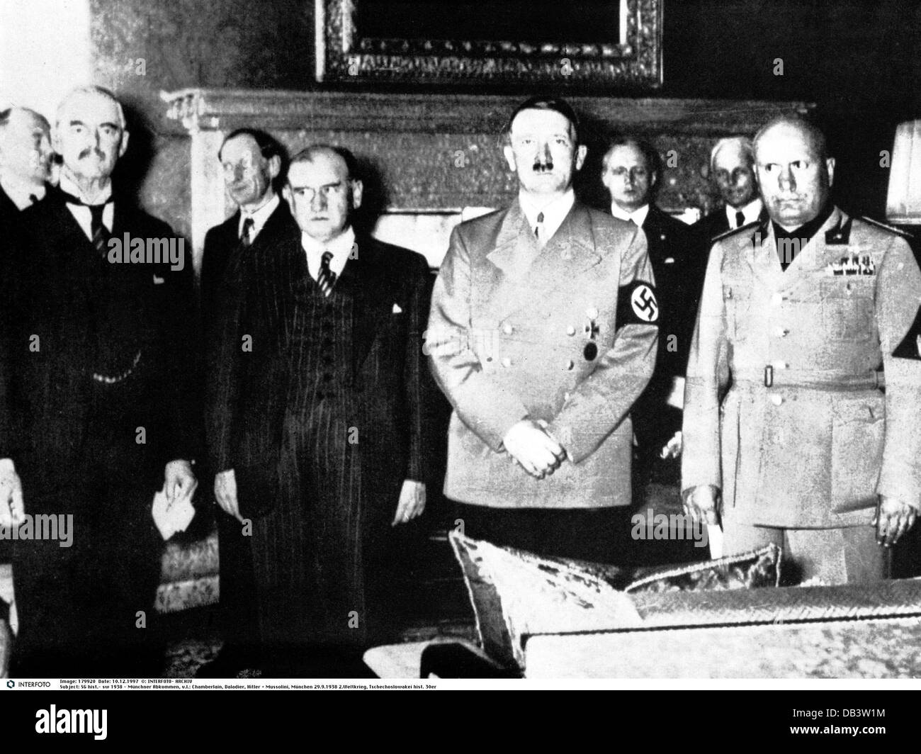 events, Munich Agreement, 29.9.1938, Additional-Rights-Clearences-NA