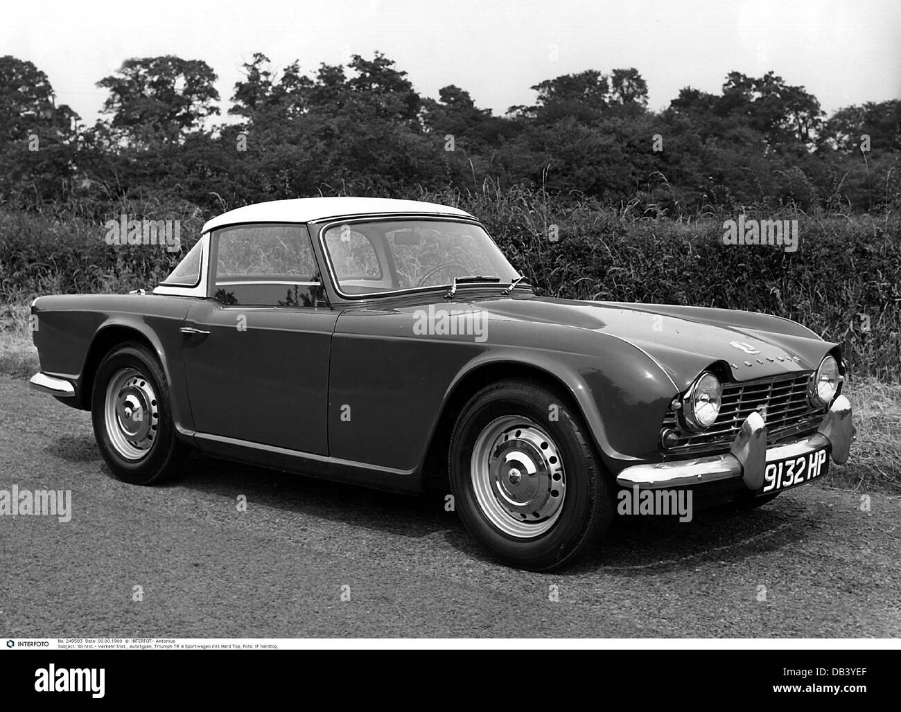 transport / transportation, car, vehicle variants, Triumph TR 4, Additional-Rights-Clearences-NA - Stock Image