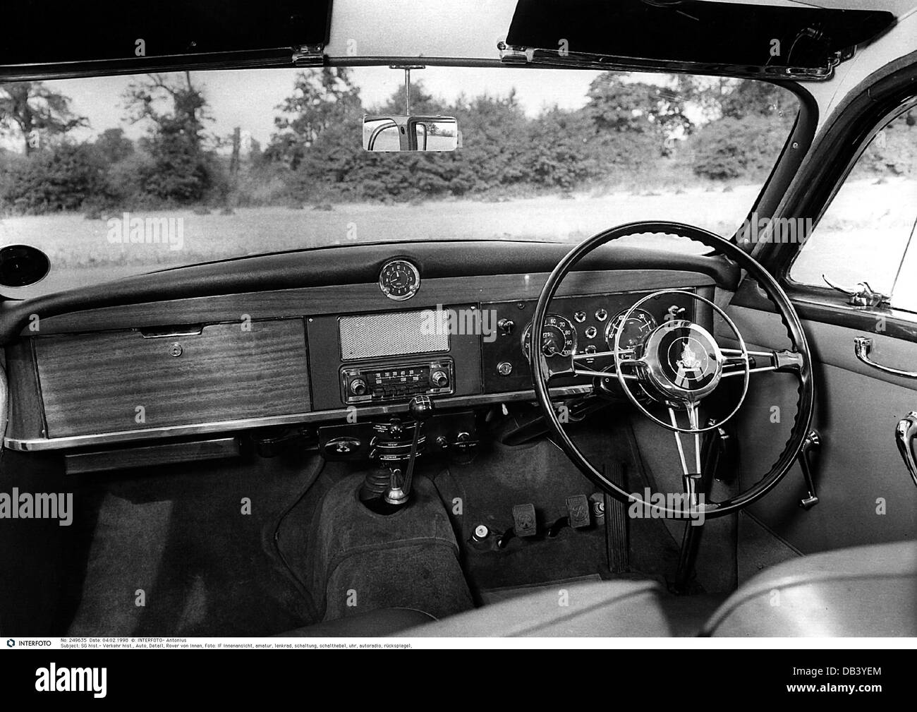 transport transportation car detail rover inside 1960s 60s 20th stock photo 58479756 alamy. Black Bedroom Furniture Sets. Home Design Ideas