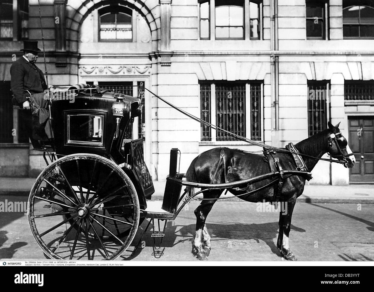 Transport / Transportation, Coach, One-horse Carriage