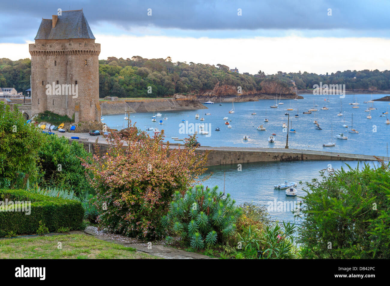 Tour Solidor near Saint Malo, Brittany, France - Stock Image