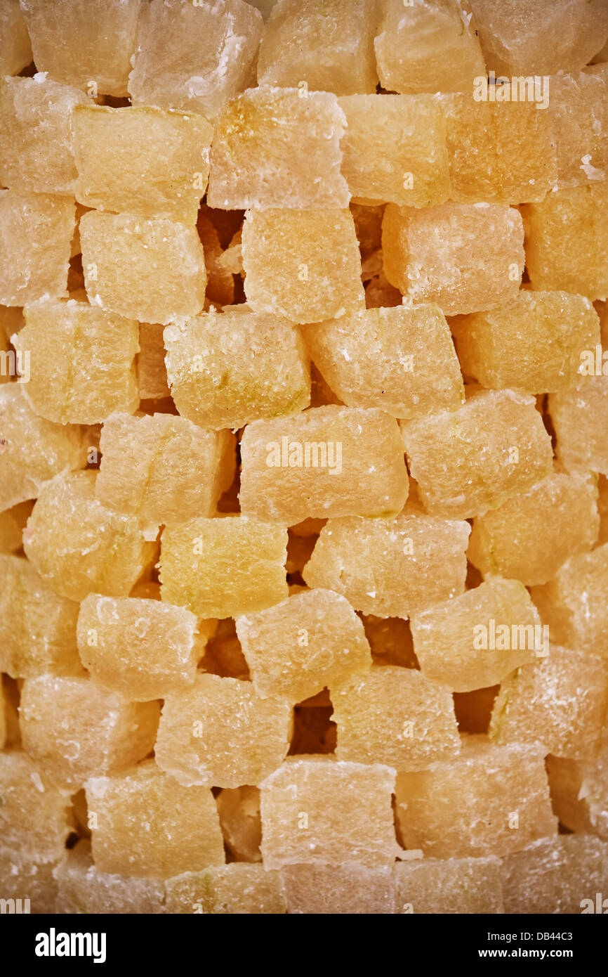 East sweets on the Indian market close up - Stock Image