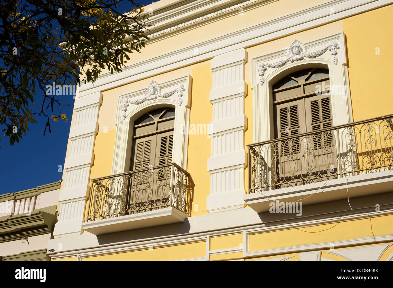 Architectural detail, Ponce, Puerto Rico - Stock Image