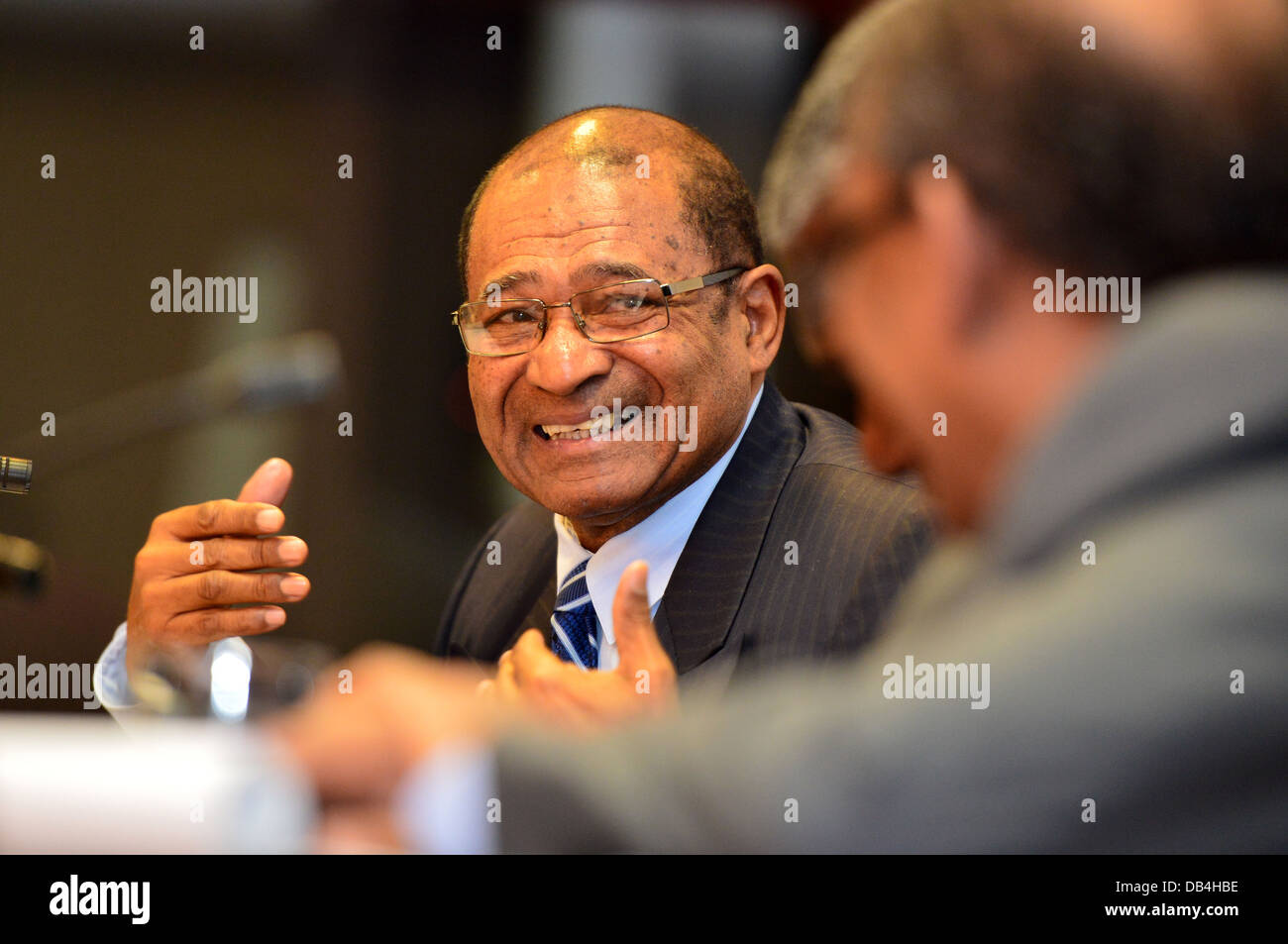 Dr Mothae Anthony Maruping, Commissioner for Economic Affairs, African Union Commission (AU), Addis Ababa, Ethiopia - Stock Image