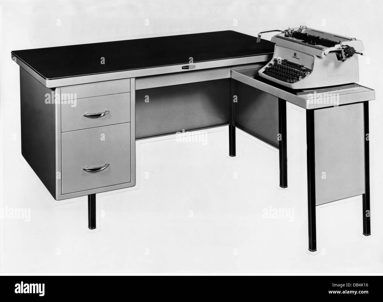 office desks with drawers. Office, Office Furniture, Desk, By Harvey \u0026 Co., London, Circa 1960, Table, Tables, Drawers, Drawer, Typewriter, Typewrite Desks With Drawers