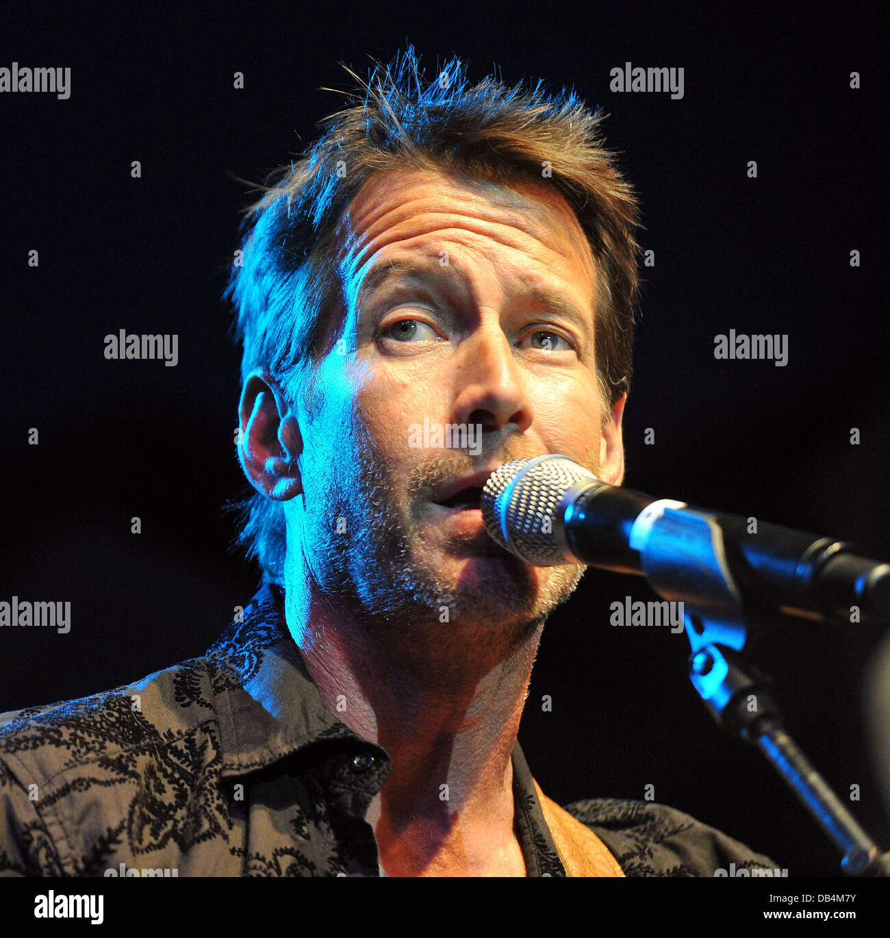 James Denton The Block Party on Wisteria Lane benefit for the Cystic Fibrosis Foundation held at Universal Studios Stock Photo