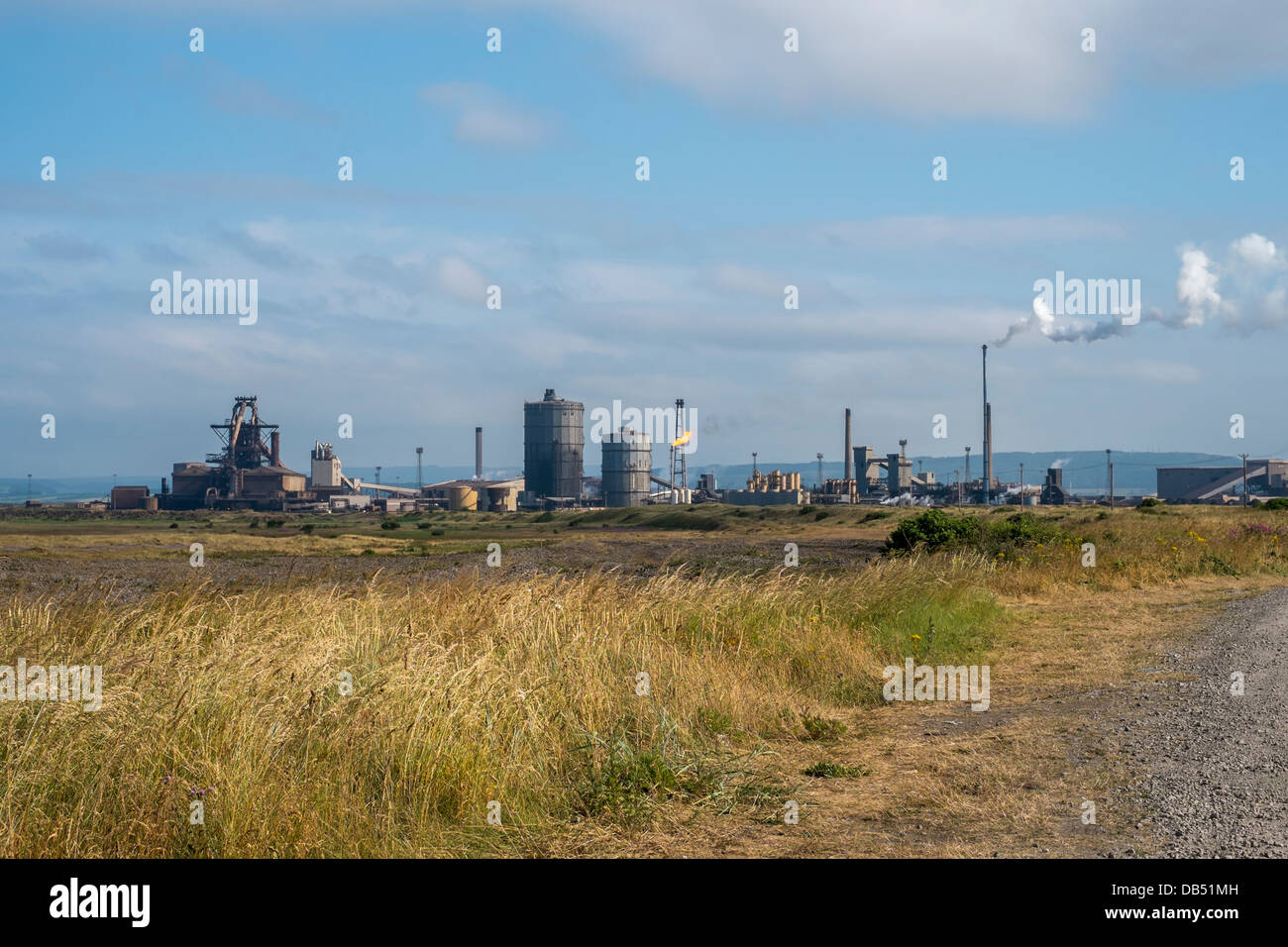 Teesside Steelworks, Redcar owned by Tata Steel - Stock Image