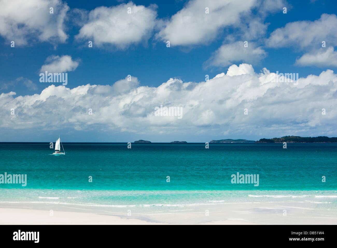 Sailing Whitsundays Stock Photos & Sailing Whitsundays Stock