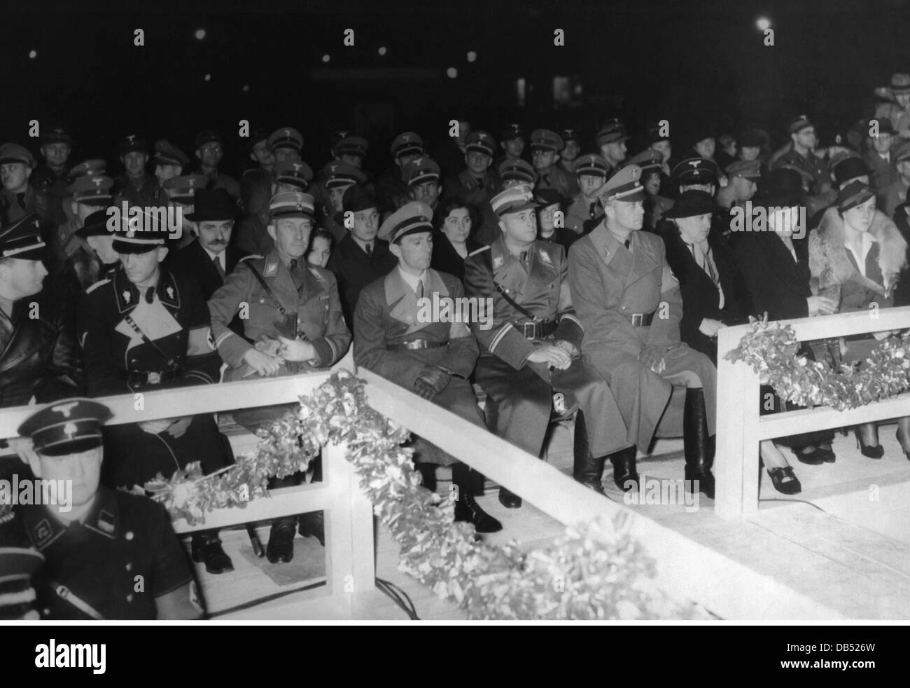 Nazism / National Socialism, event, celebration of the SA at th 30th birthday of Horst Wessel, Berlin, 9.10.1937, - Stock Image