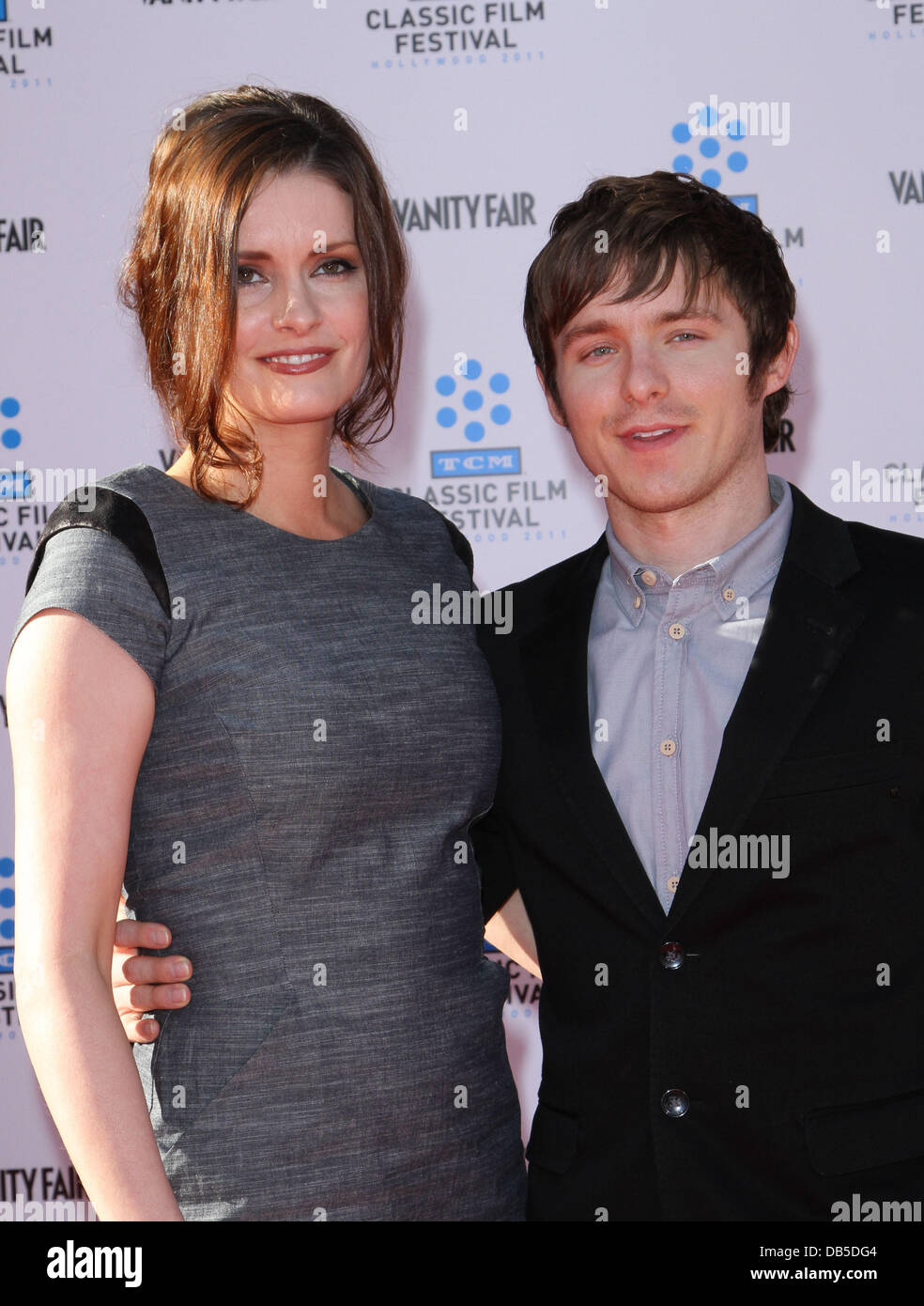 Jamie Anne Allman, Marshall Allman TCM Classic Film Festival screening of An American In Paris Gala Held At The - Stock Image