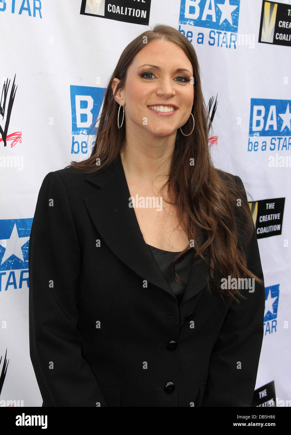 Stephanie McMahon Anti-Bullying Alliance 'Be A Star' launched by The Creative Coalition, A-List celebs and - Stock Image