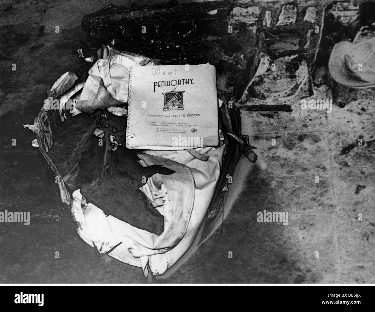 transport / transportation, aviation, disasters, Munich air disaster, crash of British European Airways Flight 609, - Stock Image