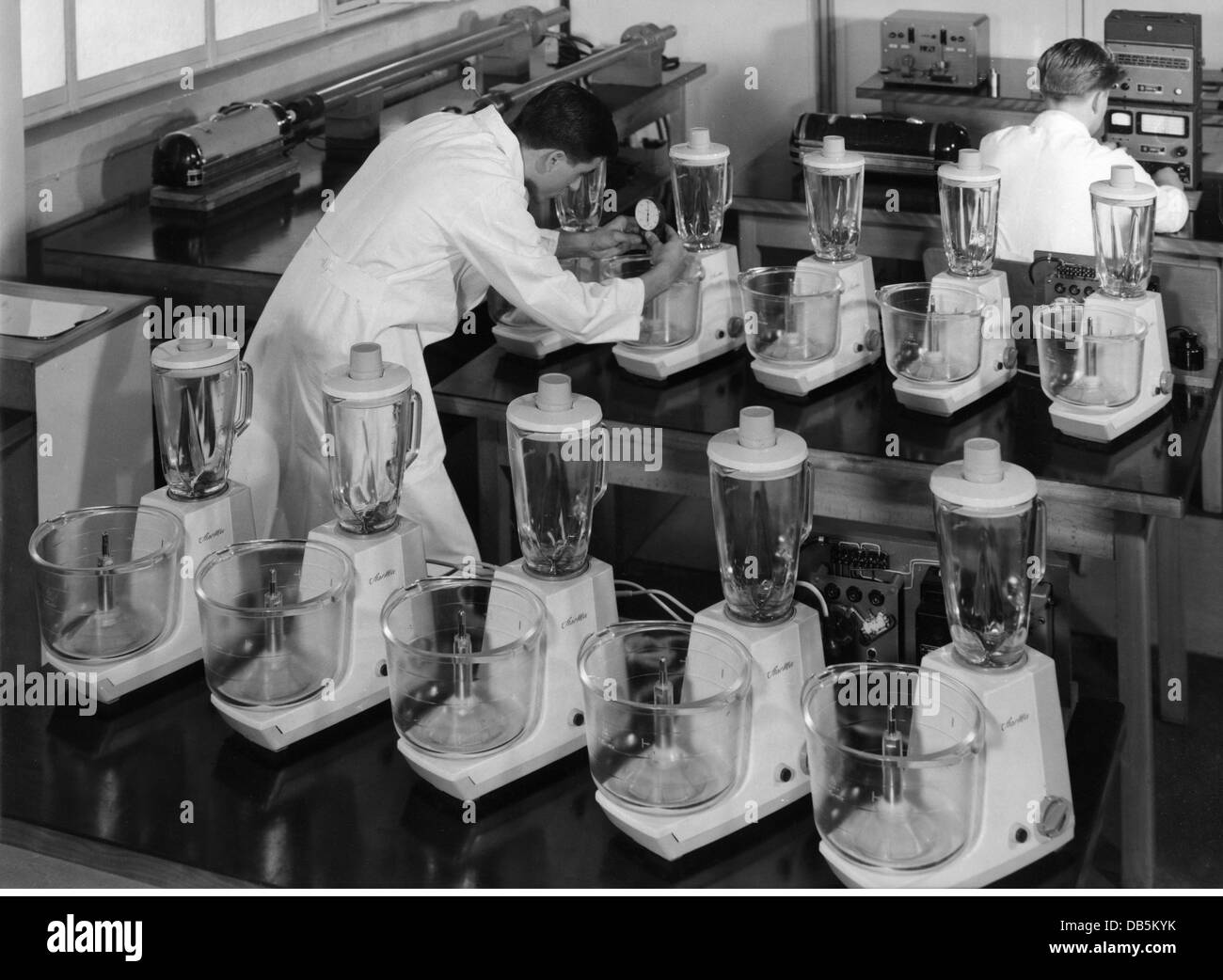 industry, household appliance, control of Starmix mixers, Elektrostar, 1958, Additional-Rights-Clearences-NA - Stock Image