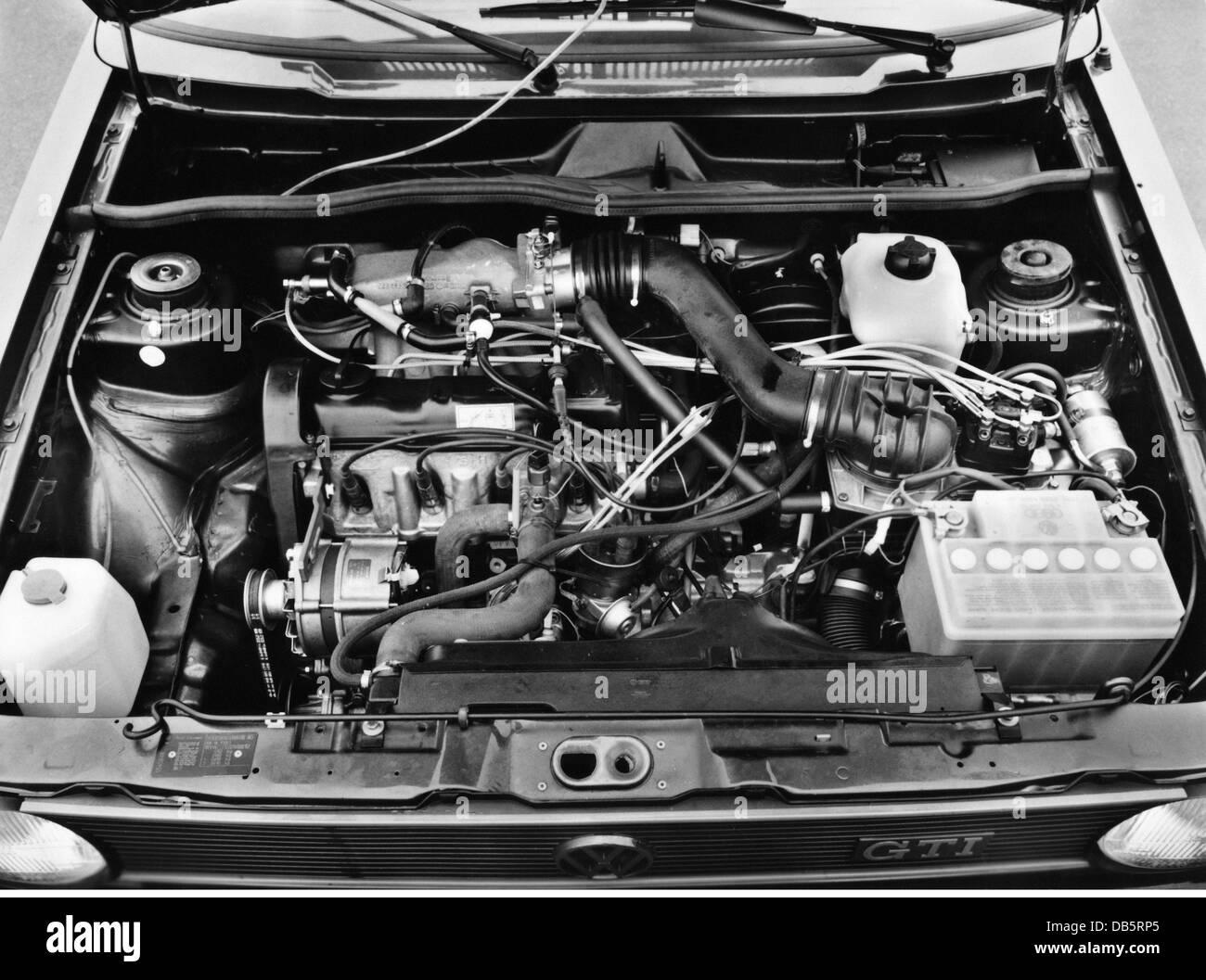 transport / transportation, car, types, Volkswagen, VW Golf GTI ...