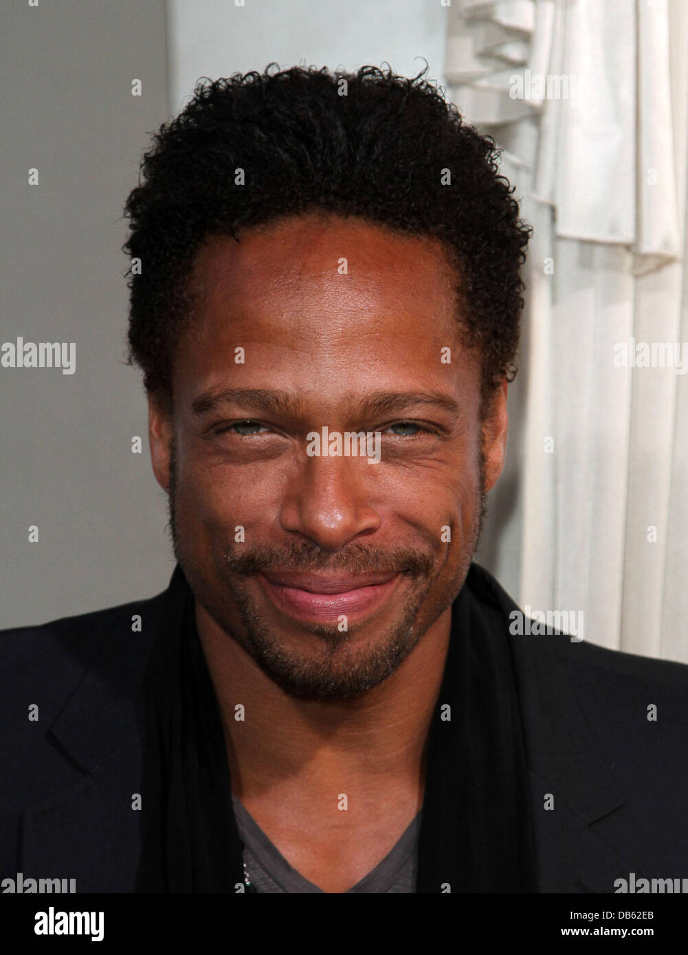 Gary Dourdan Los Angeles Premiere of 'Jumping The Broom' held at ArcLight Cinemas in Hollywood Los Angeles, California Stock Photo