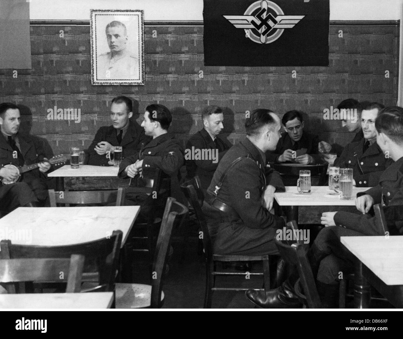 National Socialism, organisations, National Socialist Flyers Corps (Nationalsozialistisches Fliegerkorps, NSFK), - Stock Image