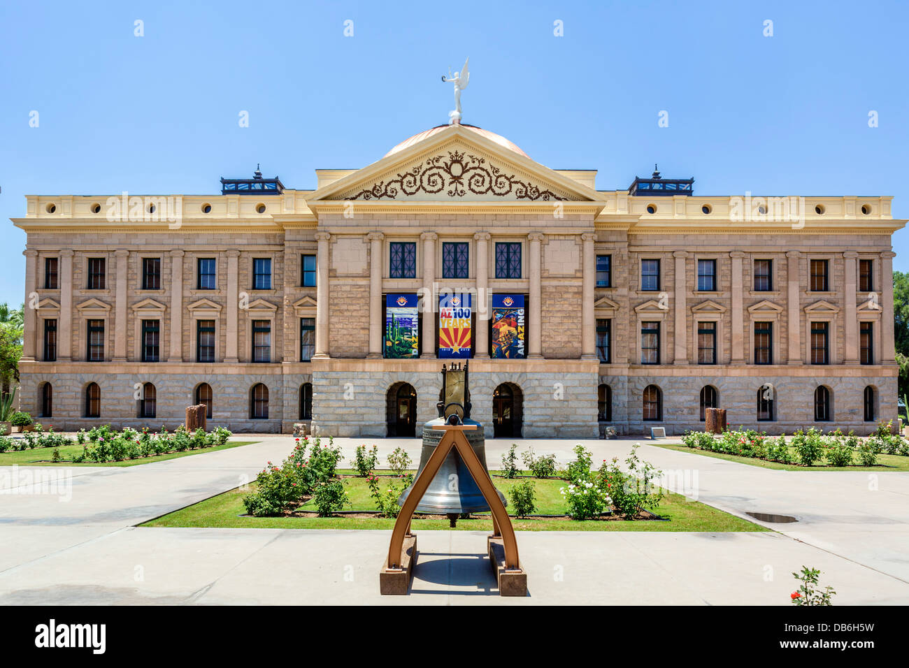 The Arizona State Capitol building, Phoenix, Arizona, USA - Stock Image