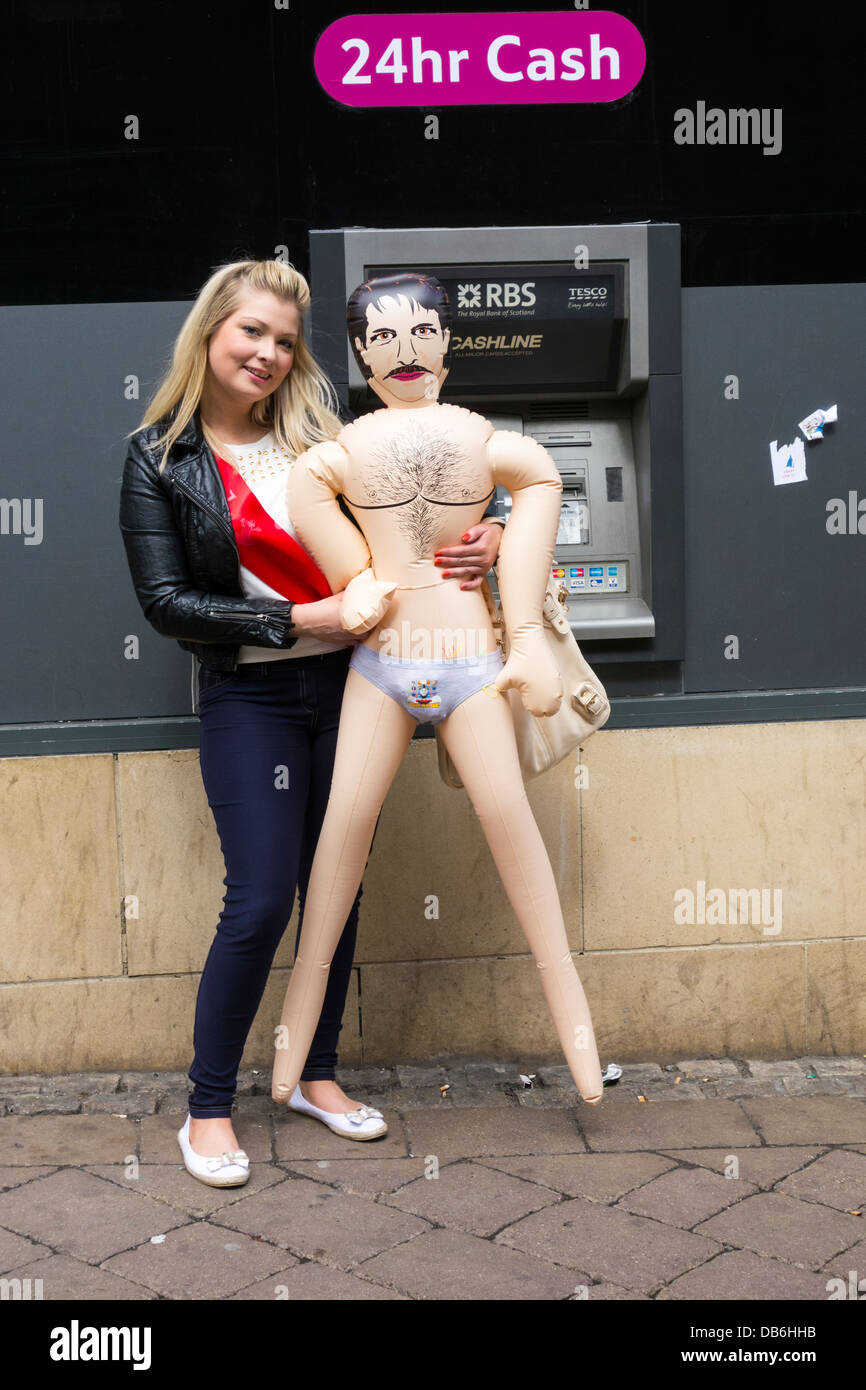 Hen Party Male Blow Up Doll